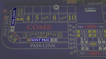 Mise «Don't Pass»